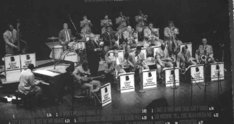 Count Basie Orchestra, Grover Mitchell, Conductor